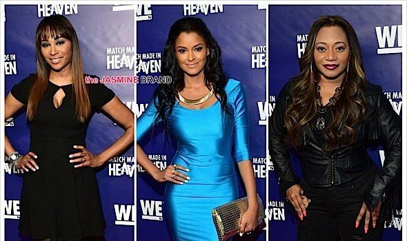 Cynthia Bailey, Claudia Jordan, LeLee Lyons Attend 'Match Made In Heaven' Screening [Photos]