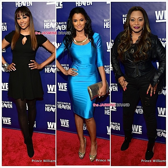 Cynthia Bailey, Claudia Jordan, LeLee Lyons Attend 'Match Made In Heaven' Screening [Photos]