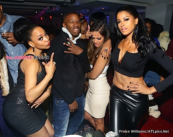 Club Scene: Jamie Foxx, Rocsi Diaz, Monyetta Shaw, Claudia Jordan Party in the A [Photos]