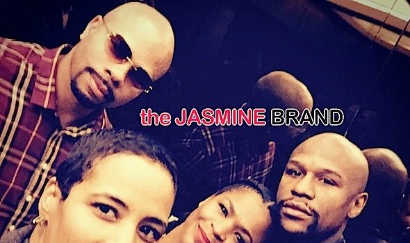 New Couple Alert? Nia Long & Floyd Mayweather Get Flirty on Instagram