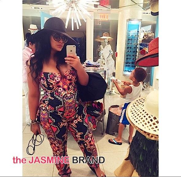 ovary hustlin-emily b pregnant-the jasmine brand