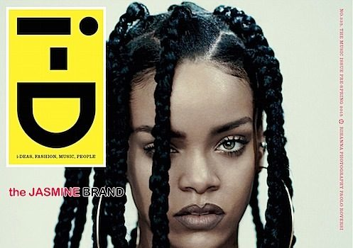 Robyn Rihanna Fenty Serves Fresh Hair For i-D Magazine