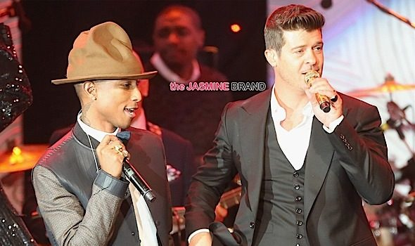 Robin Thicke & Pharrell Williams Lose 'Blurred Lines' Lawsuit: Award Marvin Gaye's Children 7.4 Million
