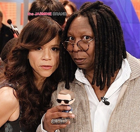 Ear Hustlin': Is Rosie Perez Prepping to Quit 'The View'?