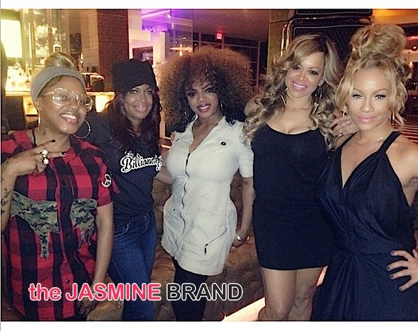 Lil Mo, Michell'e, Leelah James, Stacy, Brave