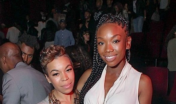 Brandy, Tony Rock, Rob Riley Attend Russell Simmons' All Def Comedy Live [Photos]