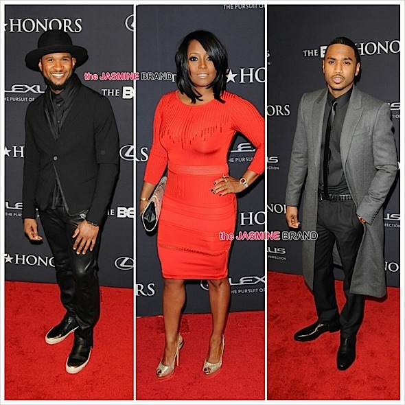 Usher, Keshia Knight-Pulliam, Trey Songz