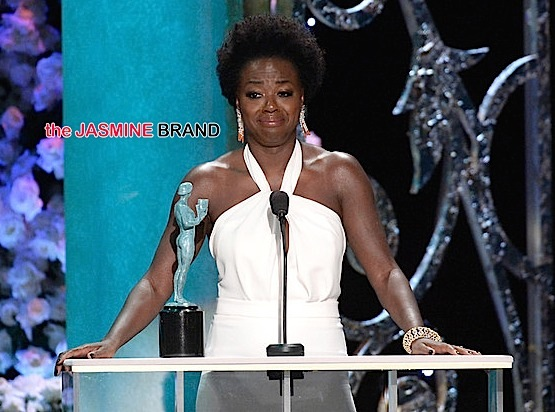 Uzo Aduba & Viola Davis Win SAG Awards + Complete List of Winners!