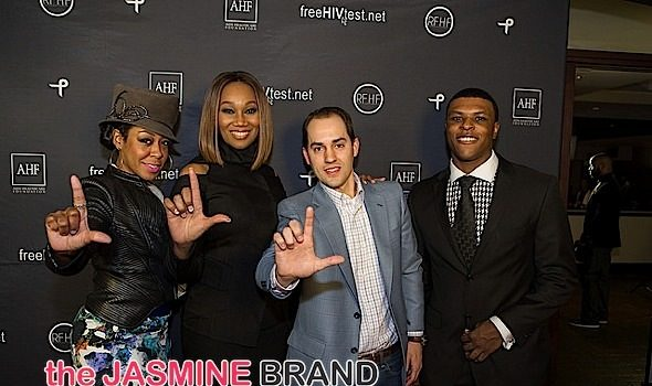 Celebs Commemorate National Black HIV/AIDS Awareness Day: Tichina Arnold, Ledisi, Yolanda Adams, Jussie Smollett Attend [Photos]