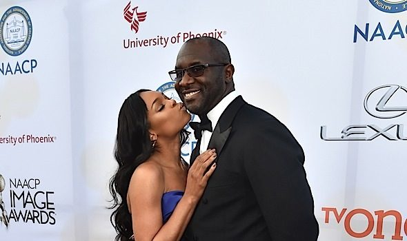 She Said Yes! Reality Star/Singer Demetria McKinney Engaged to Roger Bobb [Photo]