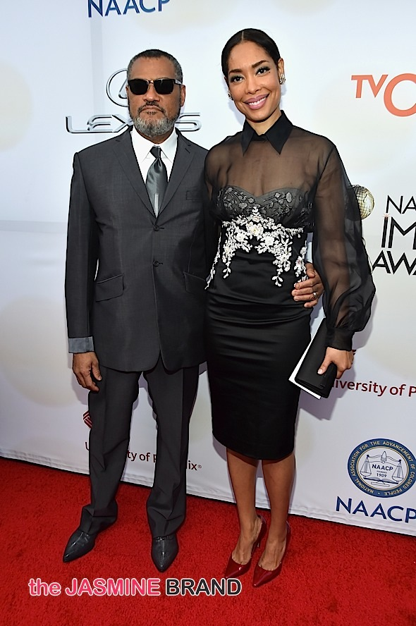 Laurence Fishburne's Wife Spotted Kissing Another Man