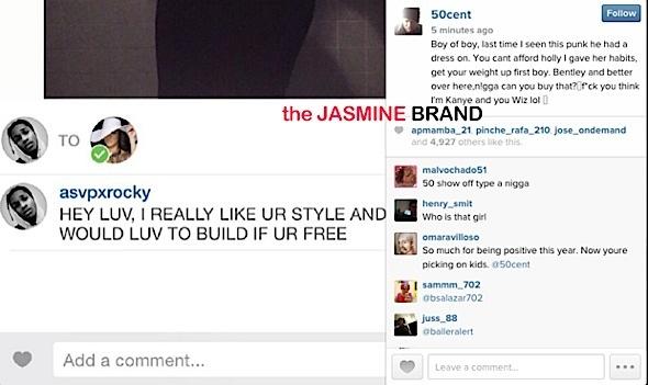 50 Cent-Asap Rocky-Holly-the jasmine brand