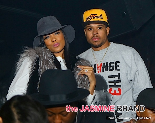 Spotted. Stalked. Scene. Monica & Fabolous Party At ATL's Compound [Photos]