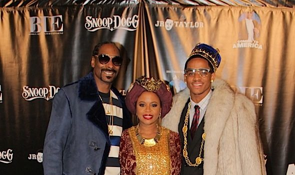 Snoop's Son Cordell Broadus Hosts 'Coming to America' B-Day Party: Ray J, Wiz Khalifa, Matt Barnes, Lauren London, Shaunie O'Neal Attend [Photos]