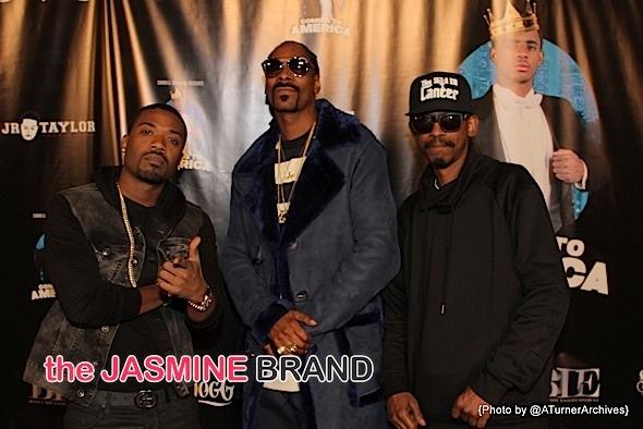 Ray J, Snoop Dogg and Kurupt