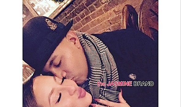 Adrienne Bailon Engaged to Boyfriend Lenny Santiago, See the Ring! [Photos]