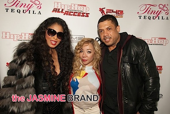 Althea Heart, Tiny Harris, Benzino