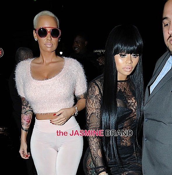 Amber Rose Gives Blac Chyna & Rob Kardashian Advice + A Close-Up of Her 7 Carats [VIDEO]