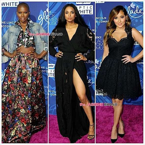 Essence Black Women In Entertainment-V Bozeman-Ciara-Adrienne Bailon-the jasmine brand