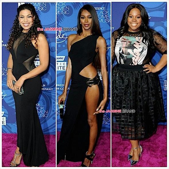 Essence Black Women in Entertainment-Jordin Sparks-Jessica White-Amber Riley-the jasmine brand