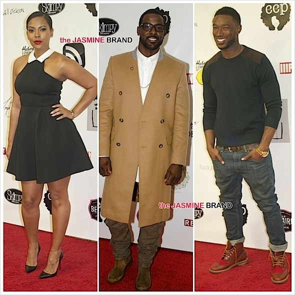 "Lance Gross Hosts Art collection "" Les Femmes"": Sundy Carter, Kevin McCall, Tyler Lepley Attend [Photos]"