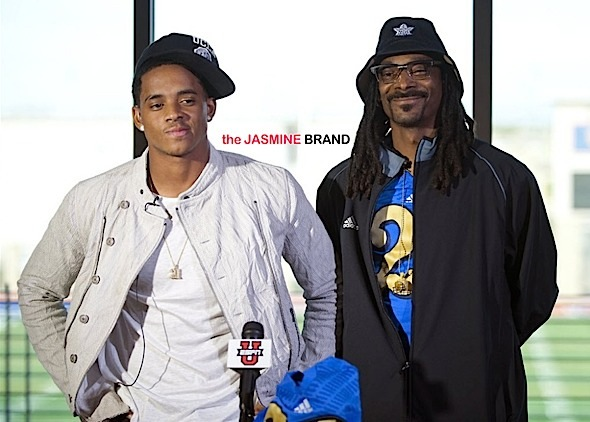 Rapper Snoop's Son Commits to UCLA, Becomes First in Family to Attend College [Photos]