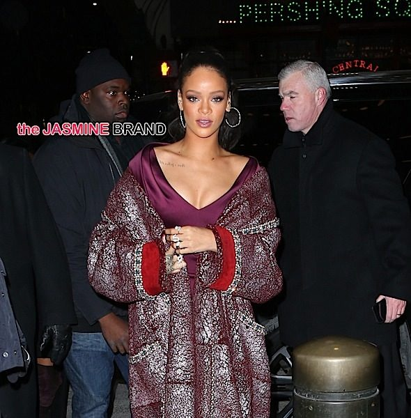 Rihanna (Sorta) Shuts Down DiCaprio Rumors, Denies She's At the Top of Her Game