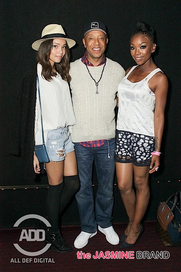 Russell Simmons Brandy Norwood 021915