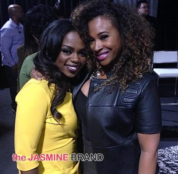 Lydia with TV Host Tanika Ray