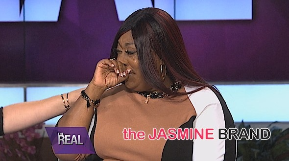 The Real's Loni Love Bursts Into Tears About Body Image [VIDEO]