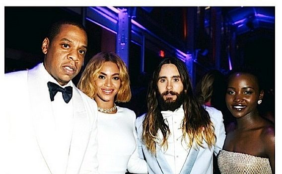 Oscars Vanity Fair After-Party: Beyonce, Jay Z, J.Lo, Common, Lupita Nyong'o, Kerry Washington [Photos]