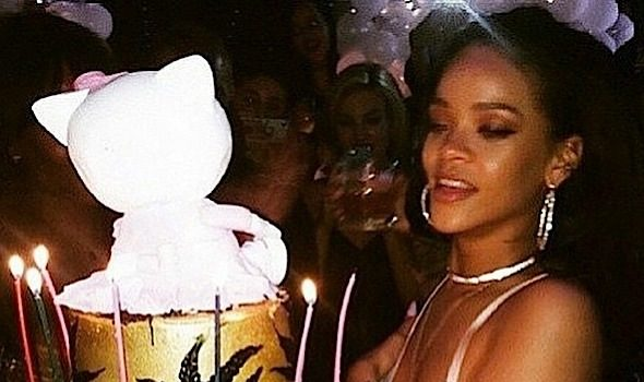 Rihanna Celebrates 27th B-Day Bash, Thrown By DiCaprio: Beyonce, Tyrese, Russell Simmons Attend [Photos]