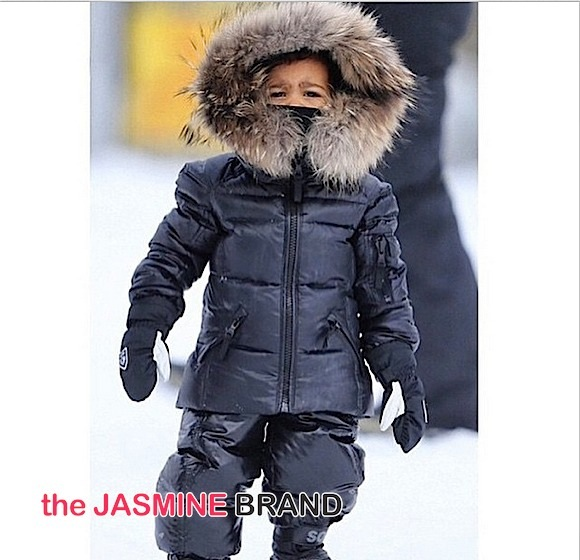 Kim Kardashian, Baby North West & Kardashian Clan Ski in Montana [Photos]
