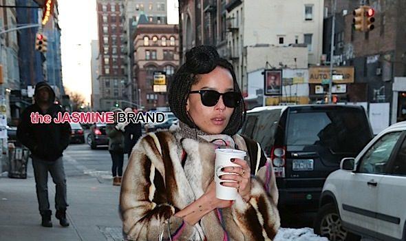 Celebrity Stalking: Zoe Kravitz, Ciara, Pauletta & Denzel Washington, Rosario Dawson, Sanaa Lathan, Kim Kardashian [Photos]