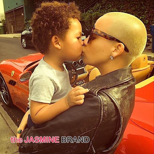 amber rose-kisses baby bash-the jasmine brand