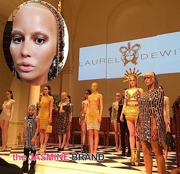 amber rose-laurel dewitt nyfw 2015-the jasmine brand