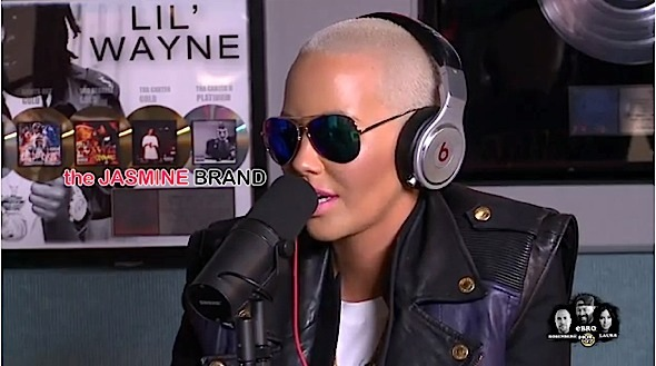 Amber Rose On Being A Role Model For Mothers, Not Considering Herself Black & Why She Will Only Date Celebrity Men [VIDEO]