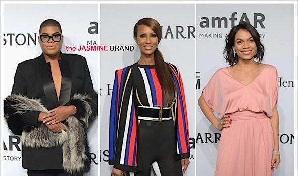 amfAR New York Gala: Iman, Naomi Campbell, Whoopi Goldberg, Rosario Dawson, Chris Rock Attend [Photos]