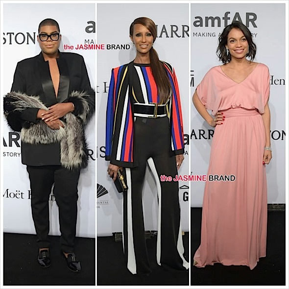 amfAR New York Gala: Iman, Naomi Campbell, Whoopi Goldberg, Rosario Dawson, Chris Rock Attend [Photos]