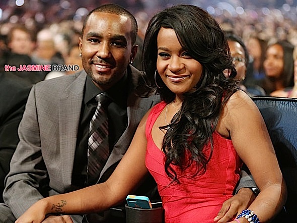bobbi kristina-nick gordon-premiere-the jasmine brand