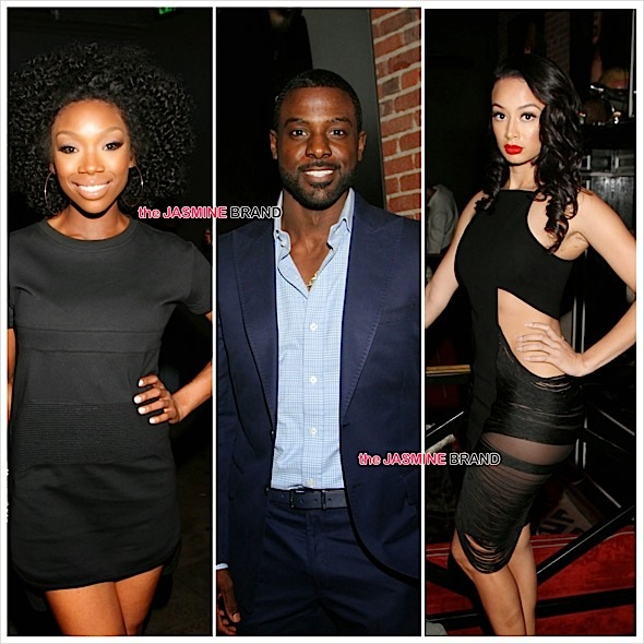 '50 Shades of BAE' Party: Lance Gross, Terrence J, Draya Michele, Brandy & More Attend [Photos]