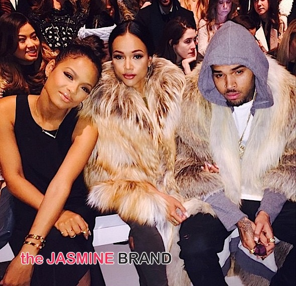 christina milian-karrueche-chris brown-nyfw 2015-the jasmine brand