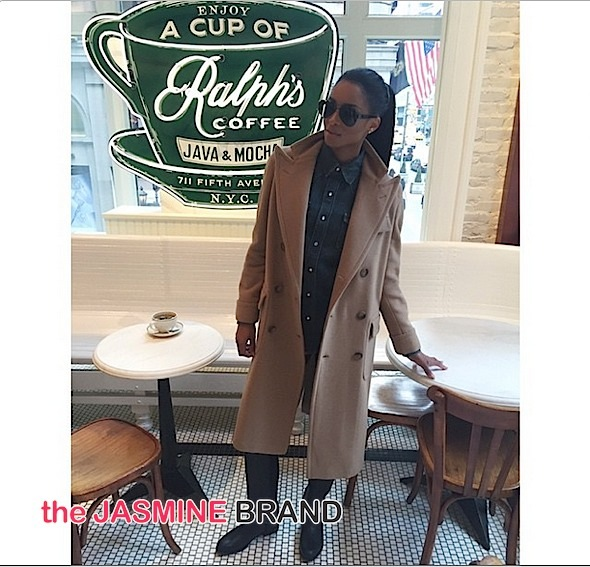 Ciara Models For Ralph Lauren During New York Fashion Week [Photos]
