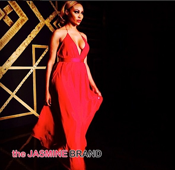 cynthia bailey-Go Red For Women Dress Collection-NYFW 2015-American Heart Association-the jasmine brand