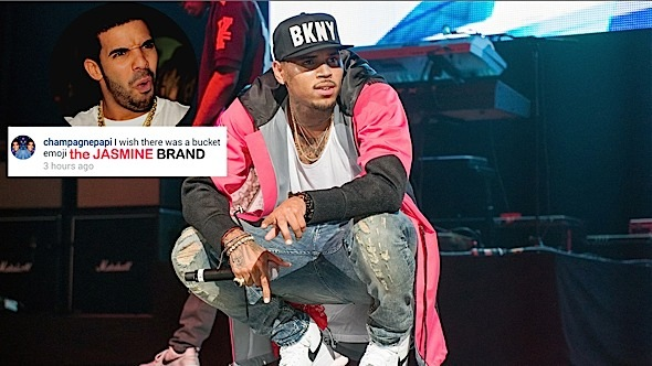 Chris Brown Will Not Discuss Drake & Rihanna In Interviews, Drizzy Reacts