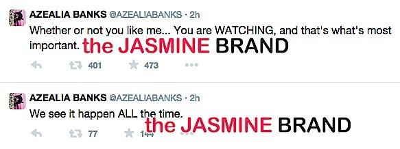 erykah badu twitter spat-azealia banks-the jasmine brand