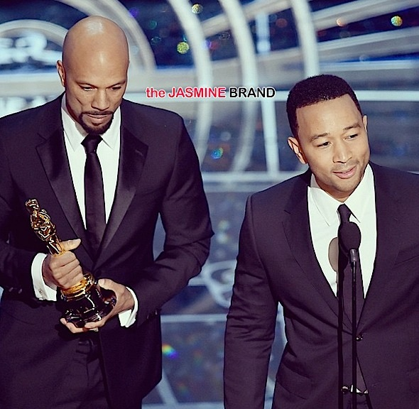 John Legend & Common Snag Oscar For Original Song, See the Acceptance Speech & Performance + Complete Winner List [VIDEO]