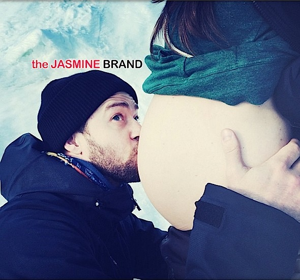 Ovary Hustlin': Sealed With A Belly Kiss! Justin Timberlake Confirms Wife Jessica Biel Pregnant