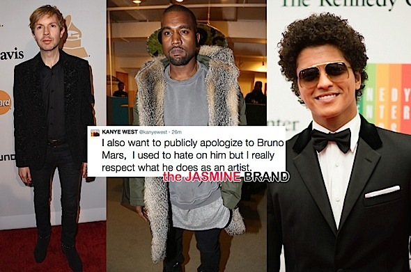kanye west-apologizes to beck-bruno mars-the jasmine brand