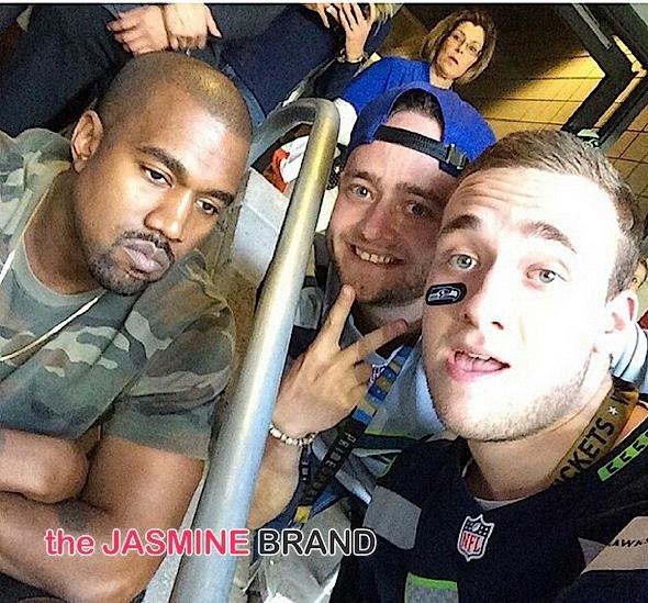 kanye west fans-celebrities-super bowl-the jasmine brand